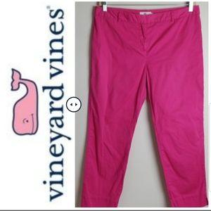 Vineyard Vines Pink Pants - Size 12